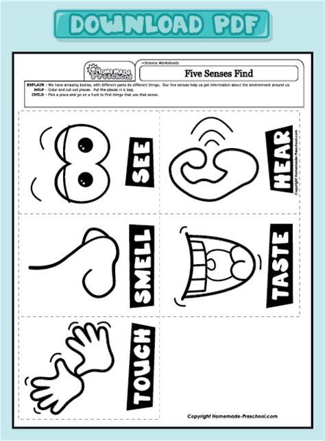 five sense worksheet new 780 five senses worksheets preschool