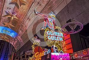 Las Vegas , Glitter Gulch Editorial Stock Image - Image ...
