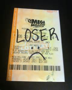 Losing Lottery Ticket Drawing