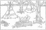 Coloring Maple Pages Indian Syrup Sugaring Sheets Native American Sugar Making Colouring Study Educational Books Indians Pure Unit Activities Preschool sketch template