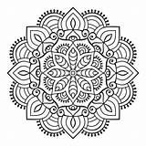 Mandala Boho Mandalas Colorear Gratis Relajarse Coloring Stil Ornament Flor Freepik Colorare Ornement Conception Concentrarse Pintar Stijl Indische Schmuck Vektoren sketch template