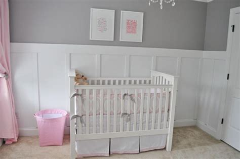 Gray Rooms With Beadboard  Wades Of 108 Nursery Reveal