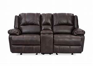 The Club Console 2 Seater Recliner Has A Casual Reclining