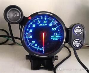 Defi Piece Auto Briey : 2018 80mm car defi tachometer rpm gauge universal car stepper motor bf tacometro meter blue ~ Medecine-chirurgie-esthetiques.com Avis de Voitures