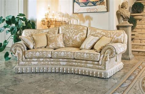 Semicircular Sofa, Classic Luxury Style