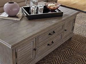 Lancaster, Dovetail, Grey, Lift, Top, Storage, Cocktail, Table, With, Casters