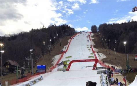 alpine skiing cancellation   womens sl  maribor