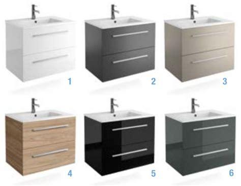 Meubles lave mains robinetteries Meuble SDB Meuble de salle de bain 70 cm FUSSION