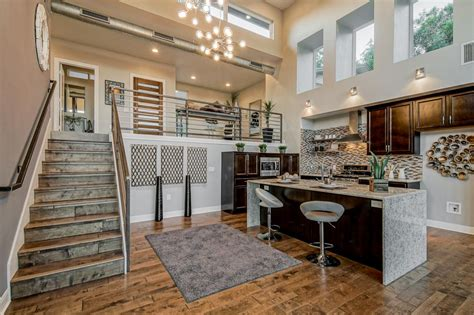 Small Open Plan Home Interiors by Contemporary Home Boasts Breezy Open Floor Plan Hgtv