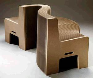 Meuble En Carton Design : le canap millefeuille auteur laurence marcout carton pinterest ~ Melissatoandfro.com Idées de Décoration