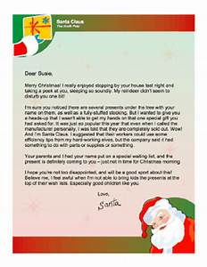 letter from santa when present will be late With letter from santa with gift