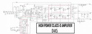 High Power Class-d Amplifier D4k5