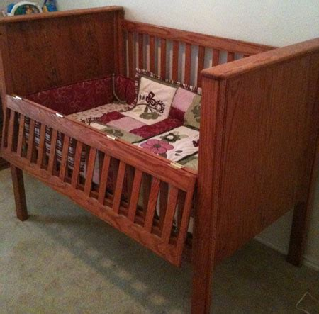 how to make a baby crib how to build a crib part 2 toolmonger