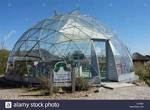 Dome shaped glass house at Butterfly World, St Albans ...