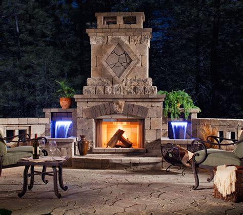 patio furniture outdoor heating and fireplaces in