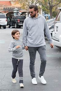 Scott Disick and Mason step out in matching outfits just ...