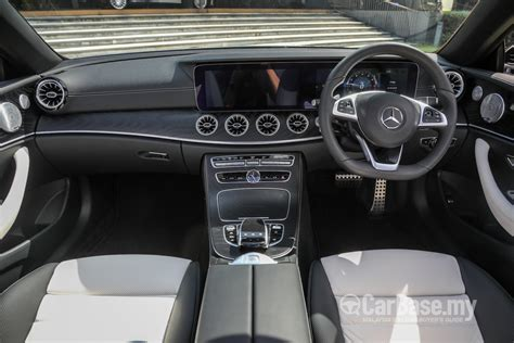 First look • features • review. Mercedes-Benz E-Class Cabriolet A238 (2018) Interior Image in Malaysia - Reviews, Specs, Prices ...