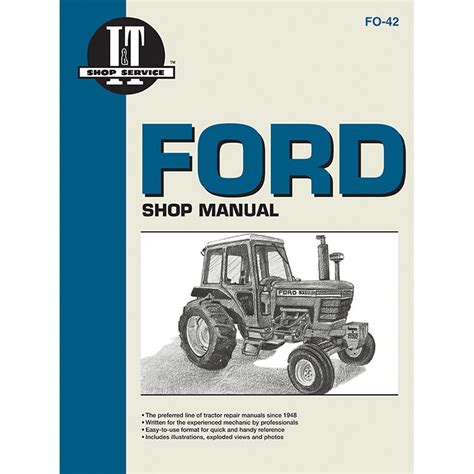 Ford New Holland Service Manual Pages