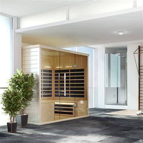 Finnleo Saunas Traditional Infrared Custom Cut And