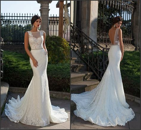 backless wedding dress lace fish wedding dress lace mermaid wedding