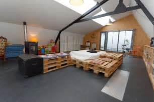 diy bedroom decorating ideas for pallet addicted 30 bed frames made of recycled pallets