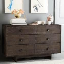 west elm dresser emmerson reclaimed wood 6 drawer dresser chestnut