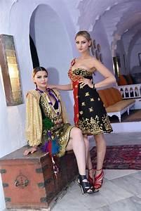 habits traditionnels tunisiens habits traditionnels de With robe fourreau combiné avec bijoux charmes