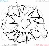 Explosion Comic Burst Clipart Poof Illustration Vector Background Cartoon Graphics Clipartof Clip Royalty Drawing Comics Seamartini Transparent Explosions Tradition Sm sketch template