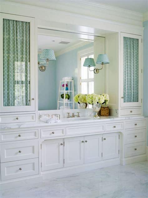 bathroom fabric  glass doors lee ann thornton