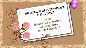 e card wedding invitation animated youtube With watch a wedding invitation online eng sub