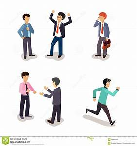 Business People. Everyday Life. Stock Vector - Image: 66888563