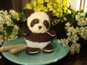Cupcake Idea Cute Panda