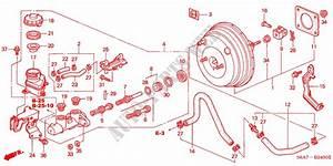 Brake Master Cylinder   Master Power  Lh  For Honda Cars