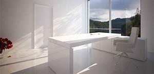 Schreibtisch Modern Weiß Schreibtisch In Wei Aus Holz Online Kaufen