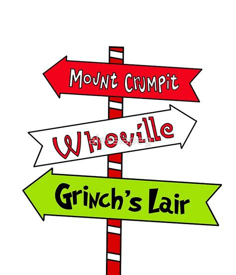 99 Best Images About Coloring Pages Whoville The Grinch Printable Whoville Signs 796168 Printable Myscres