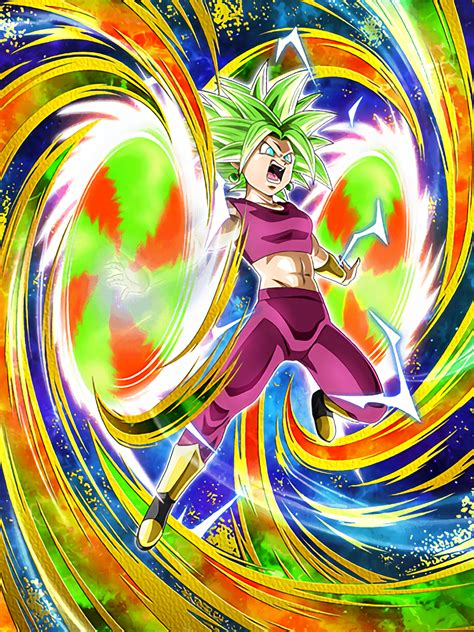 dreadful super fusion super saiyan  kefla dragon ball