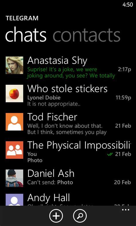 telegram messenger for nokia lumia 610 2018 free soft for windows phone smartphones
