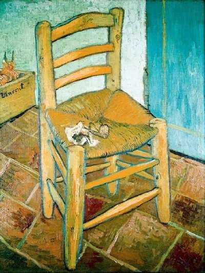 gogh s chair by vincent gogh howstuffworks