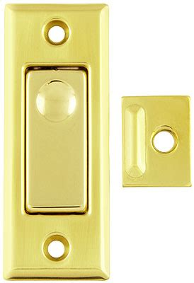 solid brass pocket door privacy bolt  choice  finish house  antique hardware