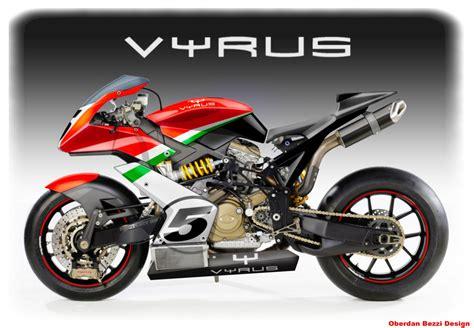 Vyrus Street And Superbike By Oberdan Bezzi
