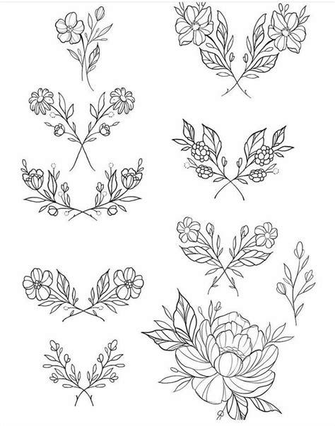Bullet Journal flower drawing | Tattoo drawings, Tattoo designs, Flower tattoos