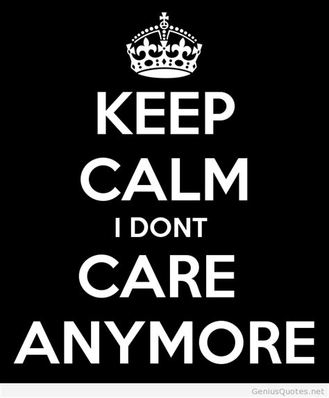 Dont Care Attitude Quotes
