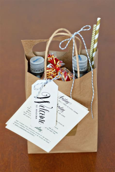 Wedding Welcome Bags Handmade And Homegrown Wedding