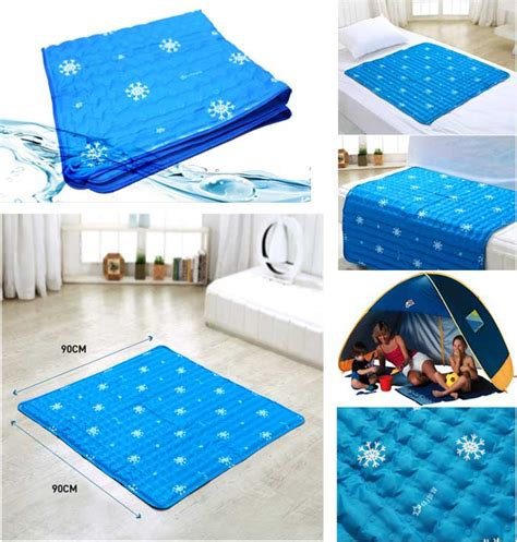 cooling gel mattress topper ilwoul cool gel mattress bed pad cooling topper blue
