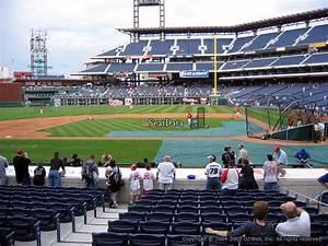 Citizens Bank Park Seating Chart Concert Citizens Bank Park Section 129 Philadelphia Phillies