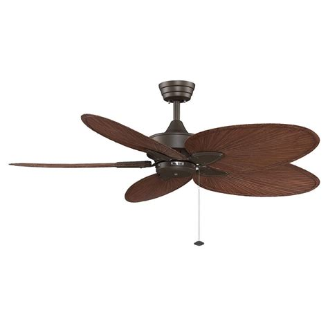 ceiling fan blades fanimation fp7500 windpointe 52 5 blade ceiling fan