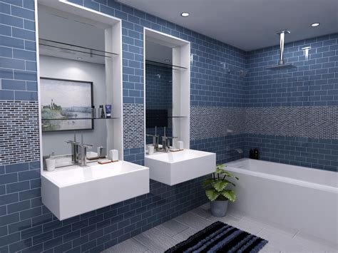 Subway Tile Bathroom Design