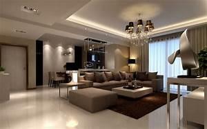 Lustre Salon Moderne : salons modernes remarquables 25 beaux exemples ~ Voncanada.com Idées de Décoration