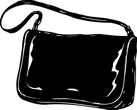 Purse Clipart Clip Black And White Purse Clipart Clipart Suggest