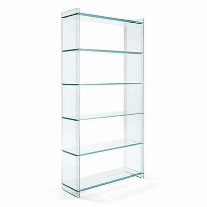 Glass Shelving Unit Quiller Libreria Tonelli Storage